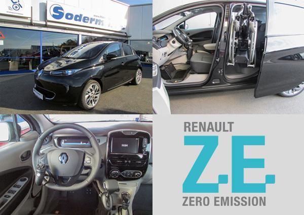 Renault Zoe für Selbstfahrer