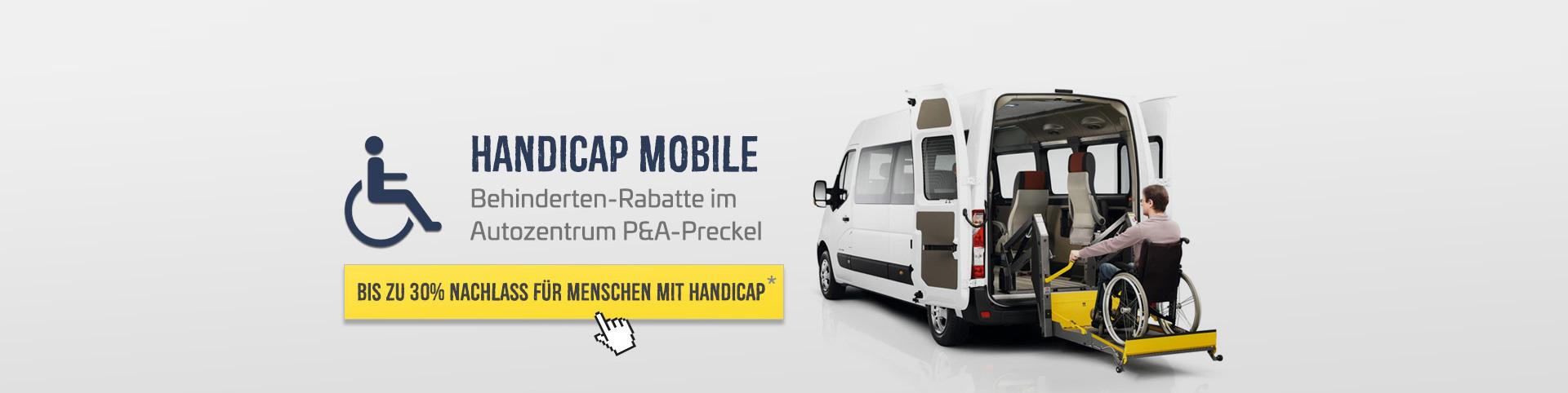 Renault Behindertenrabatt