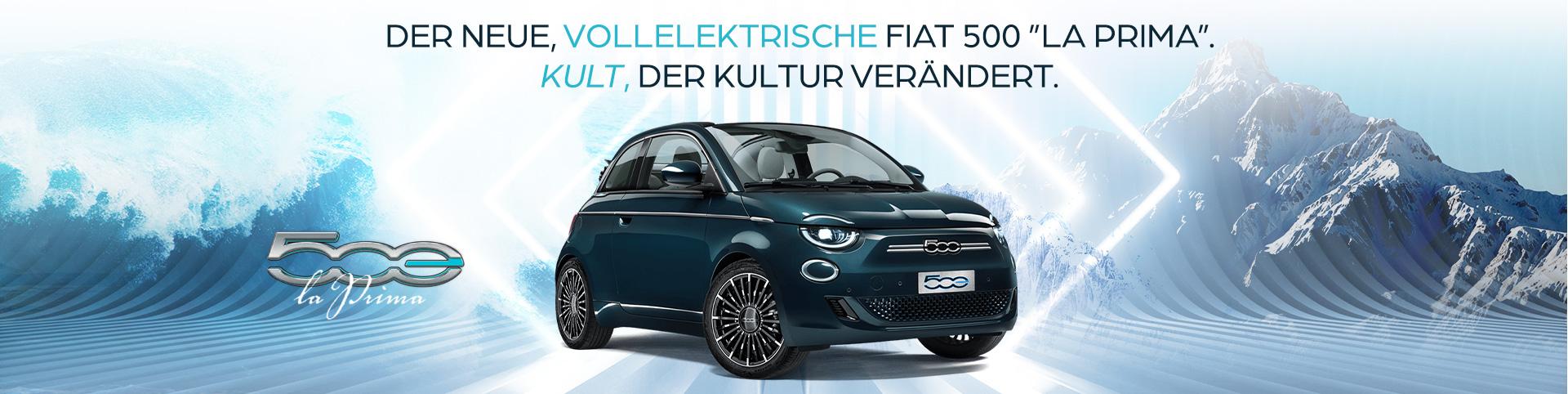 Fiat 500 la Prima 100% Elektro
