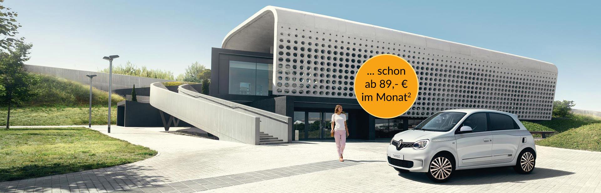Renault Twingo schon ab 89,- € im Monat bei Autozentrum PA/Preckel