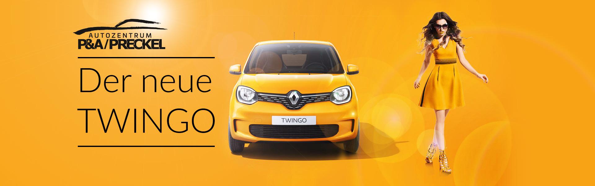 Der neue Renault Twingo im Autozentrum P&A Preckel
