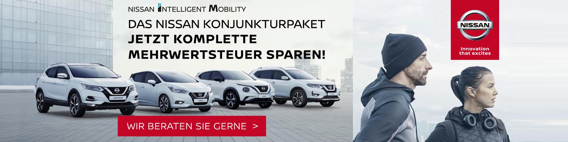 Mit Autozentrum P&A-Preckel bei Nissan die Mehrwertsteuer sparen