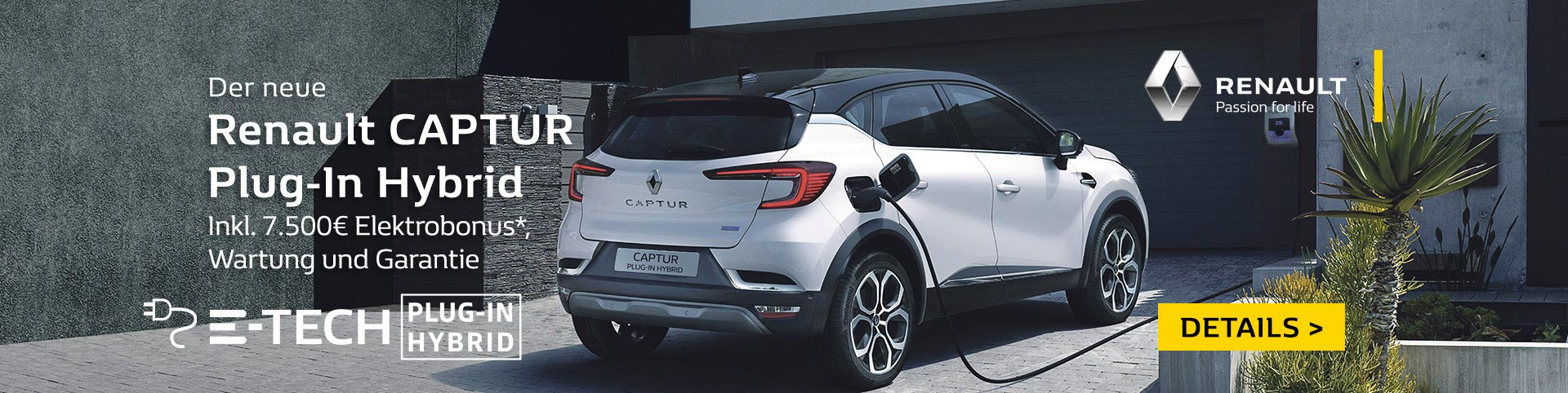 Renault CAPTUR Plug-In-Hybrid finanzieren und kaufen